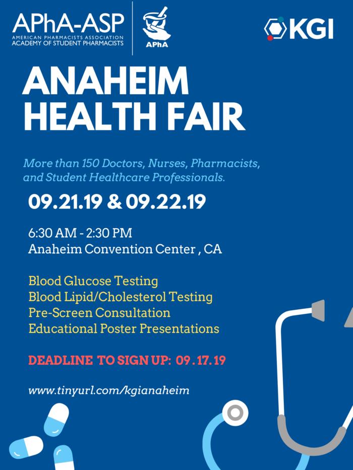 anaheim health fair