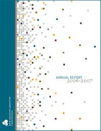 annual report cover 2006-07