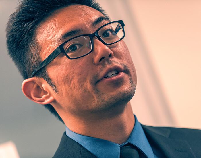 KGI student at presentation 33