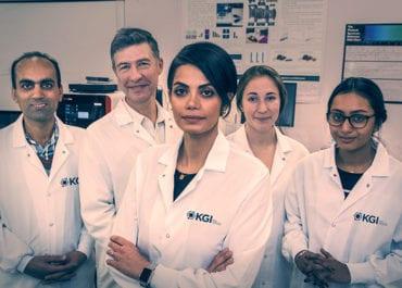 Kiana Aran and research team