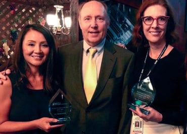 faculty preceptor award and ee coordinator award