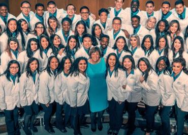 SPHS white coat ceremony