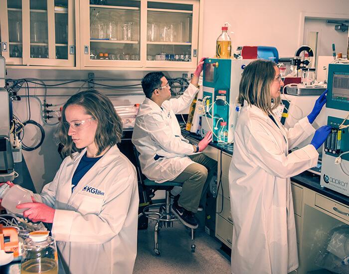 2018 KGI bioprocessing lab