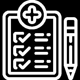 healthcare curriculum icon
